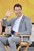 Actor Jerry O'Connell interacts with fans on ABC's 'Good Morning America' at Rumsey Playfield Central Park on June 10 2016 in New York City
