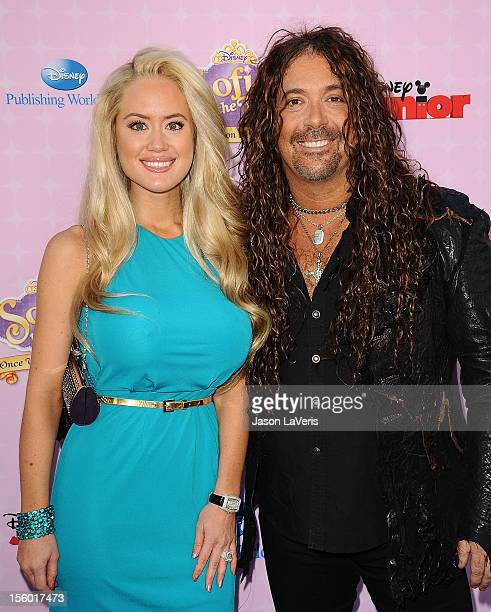 Actor Jess Harnell and Christine Kellerman attend the premiere of 'Sofia The First Once Upon a Princess' at Walt Disney Studios on November 10 2012...