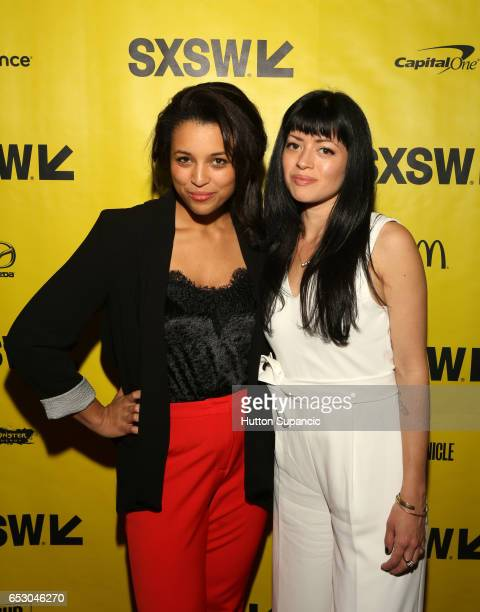 Actor Jess Nurse and director Natalia Leite attend the premiere of 'MFA' during 2017 SXSW Conference and Festivals at Stateside Theater on March 13...