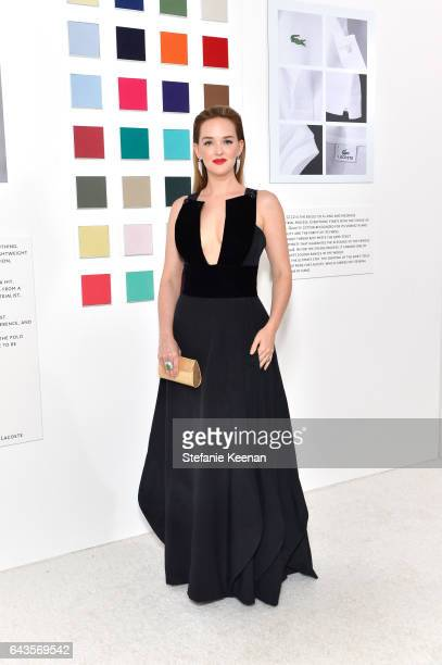 Actor Jess Weixler attends The 19th CDGA with Presenting Sponsor LACOSTE at The Beverly Hilton Hotel on February 21 2017 in Beverly Hills California