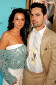 Actor Jesse Bradford and girlfriend Priscilla Valles arrive at the Los Angeles Film Festival Premiere of 'Happy Endings' at the Mann's National...