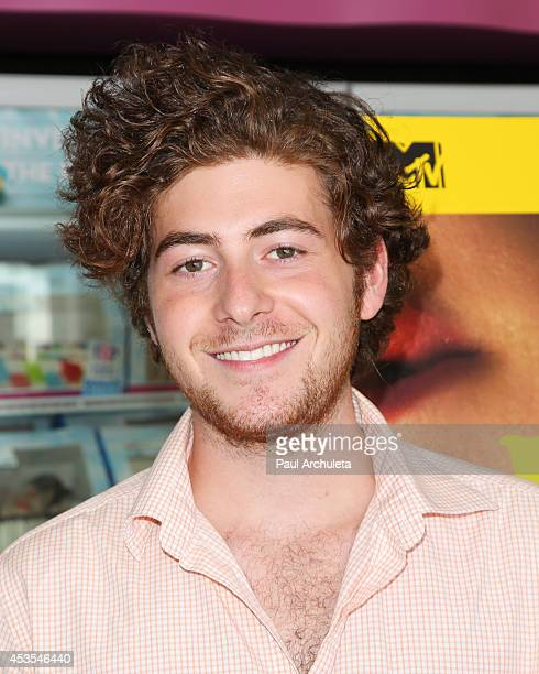 Actor Jesse Carere attends the MTV's 'Finding Carter' fan event at BaskinRobbins on August 12 2014 in Burbank California