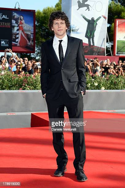 Actor Jesse Eisenberg attends 'Night Moves' Premiere during the 70th Venice International Film Festival at Sala Grande on August 31 2013 in Venice...