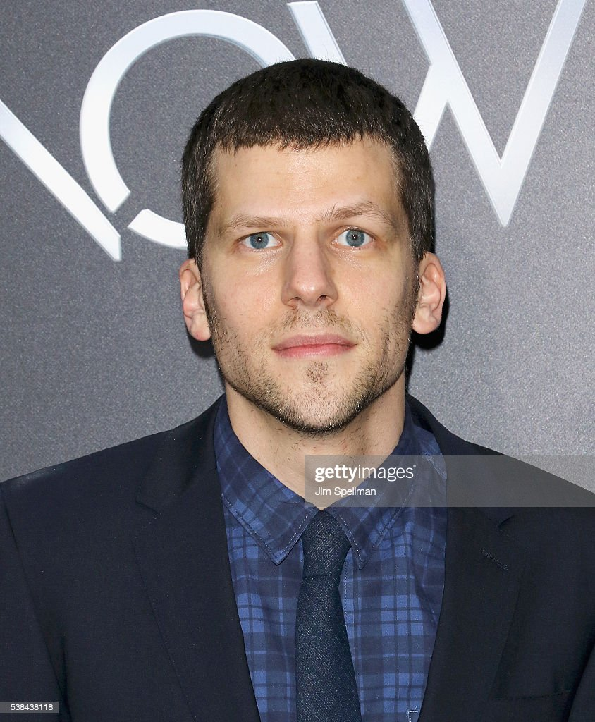 Actor Jesse Eisenberg attends the 'Now You See Me 2' world premiere at AMC Loews Lincoln Square 13 theater on June 6, 2016 in New York City.