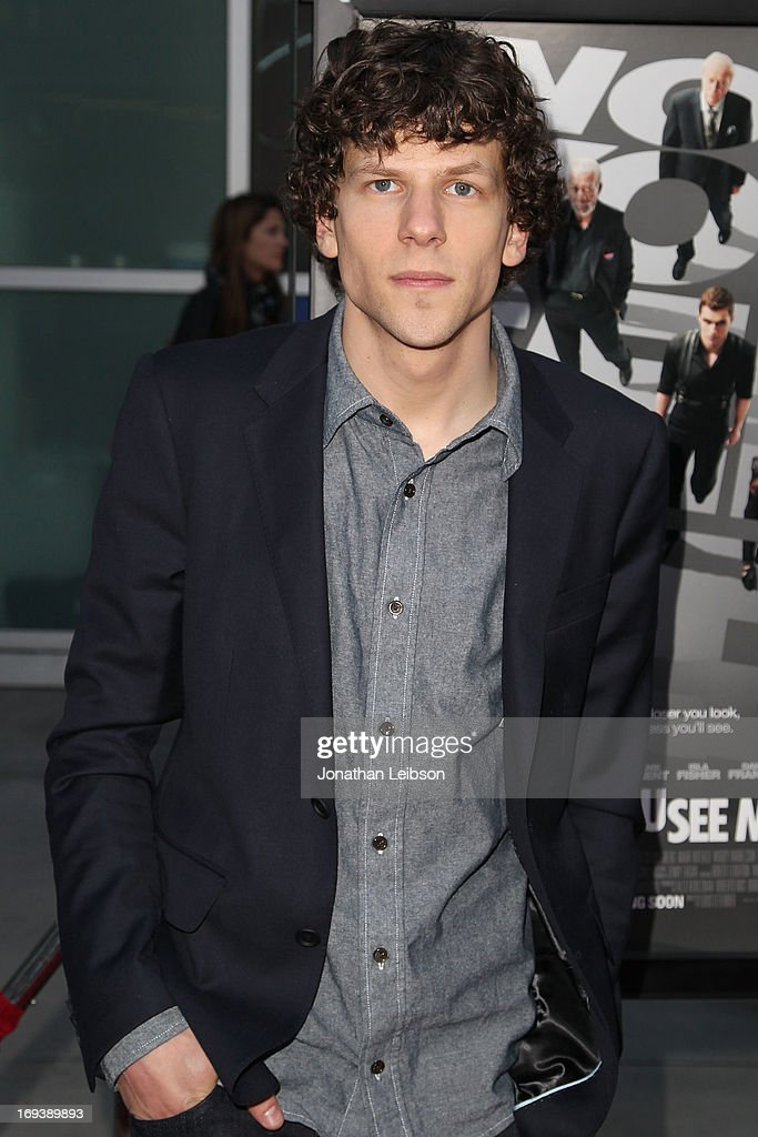 Actor <a gi-track='captionPersonalityLinkClicked' href=/galleries/search?phrase=Jesse+Eisenberg&family=editorial&specificpeople=625439 ng-click='$event.stopPropagation()'>Jesse Eisenberg</a> attends the 'Now You See Me' - Los Angeles Special Screening at ArcLight Hollywood on May 23, 2013 in Hollywood, California.