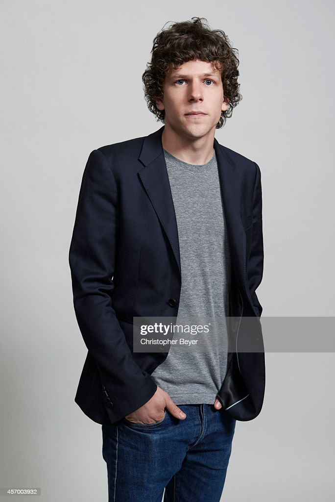 Actor <a gi-track='captionPersonalityLinkClicked' href=/galleries/search?phrase=Jesse+Eisenberg&family=editorial&specificpeople=625439 ng-click='$event.stopPropagation()'>Jesse Eisenberg</a> is photographed for Entertainment Weekly Magazine on January 25, 2014 in Park City, Utah.