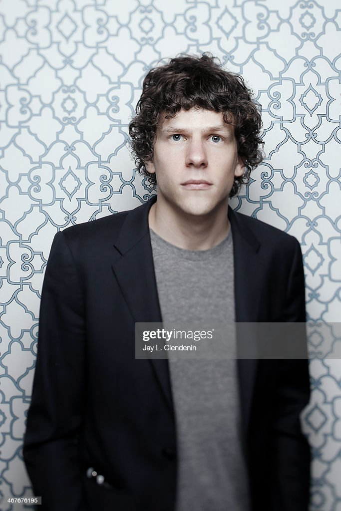 Actor <a gi-track='captionPersonalityLinkClicked' href=/galleries/search?phrase=Jesse+Eisenberg&family=editorial&specificpeople=625439 ng-click='$event.stopPropagation()'>Jesse Eisenberg</a> is photographed for Los Angeles Times on January 18, 2014 in Park City, Utah. PUBLISHED IMAGE.