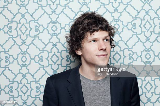 Actor Jesse Eisenberg is photographed for Los Angeles Times on January 18 2014 in Park City Utah PUBLISHED IMAGE CREDIT MUST READ Jay L Clendenin/Los...