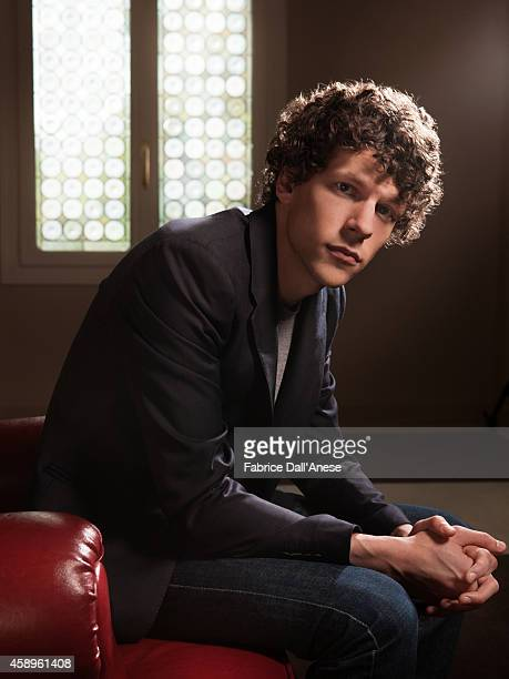 Actor Jesse Eisenberg is photographed for Vanity Fair Italy on September 1 2013 in Venice Italy