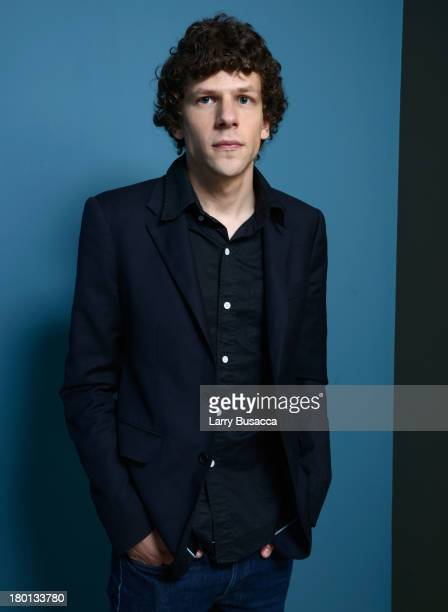 Actor Jesse Eisenberg of 'Night Moves' poses at the Guess Portrait Studio during 2013 Toronto International Film Festival on September 9 2013 in...