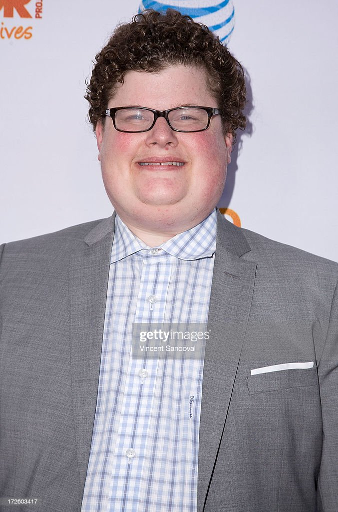 Actor <a gi-track='captionPersonalityLinkClicked' href=/galleries/search?phrase=Jesse+Heiman&family=editorial&specificpeople=10180136 ng-click='$event.stopPropagation()'>Jesse Heiman</a> attends the Adam Lambert performance and check donation presentation to The Trevor Project for 'Live Proud' Campaign at Playhouse Hollywood on July 3, 2013 in Los Angeles, California.