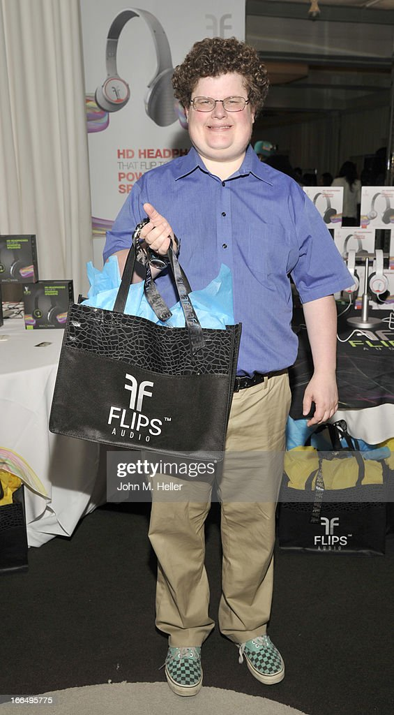 Actor Jesse Heiman attends the Flips Audio MTV Awards Secret Room gifting suite at the SLS Hotel on April 12, 2013 in Beverly Hills, California.