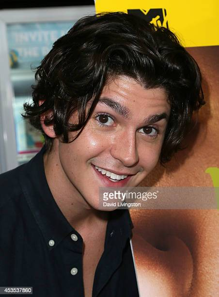 Actor Jesse Henderson attends the MTV's 'Finding Carter' fan event at BaskinRobbins on August 12 2014 in Burbank California