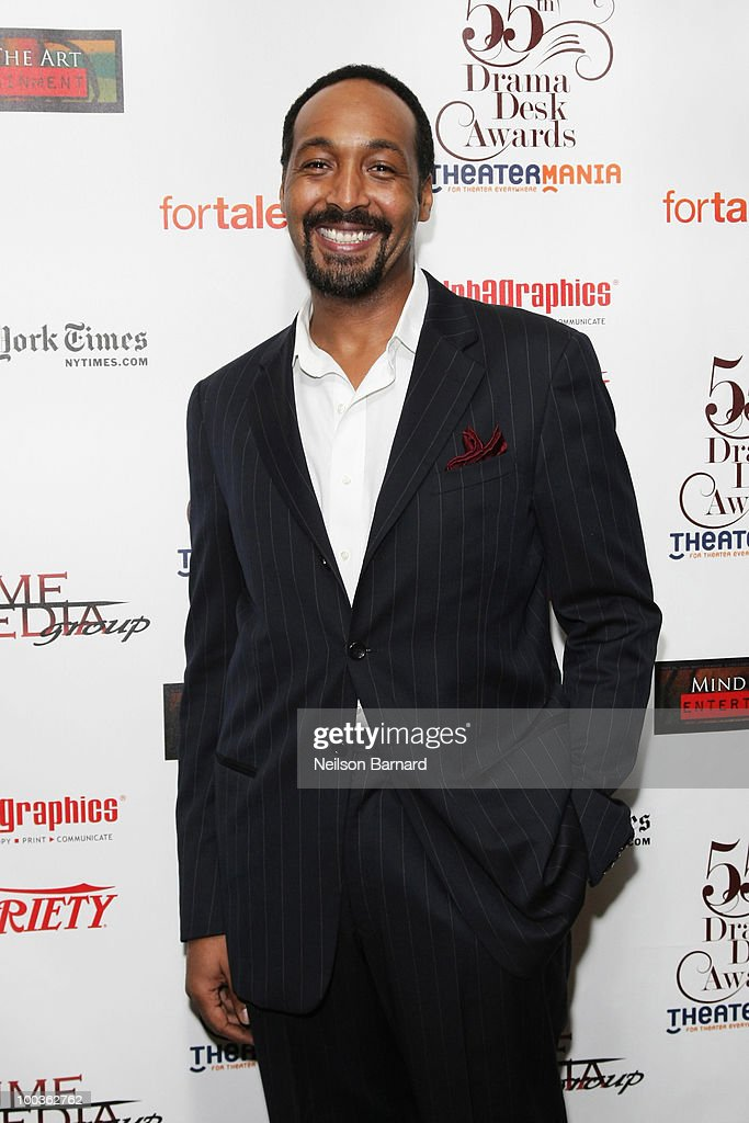 Actor Jesse L. Martin arrives at the 55th Annual Drama Desk Award at FH LaGuardia Concert Hall at Lincoln Center on May 23, 2010 in New York City.