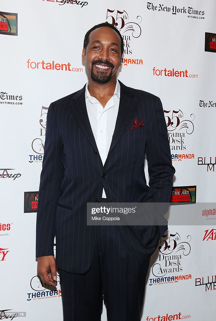 Actor Jesse L. Martin arrives at the 55th Annual Drama Desk Awards at the FH LaGuardia Concert Hall at Lincoln Center on May 23, 2010 in New York City.