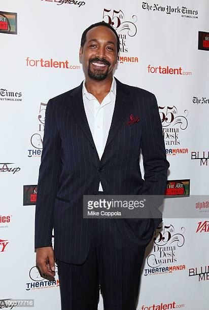 Actor Jesse L Martin arrives at the 55th Annual Drama Desk Awards at the FH LaGuardia Concert Hall at Lincoln Center on May 23 2010 in New York City