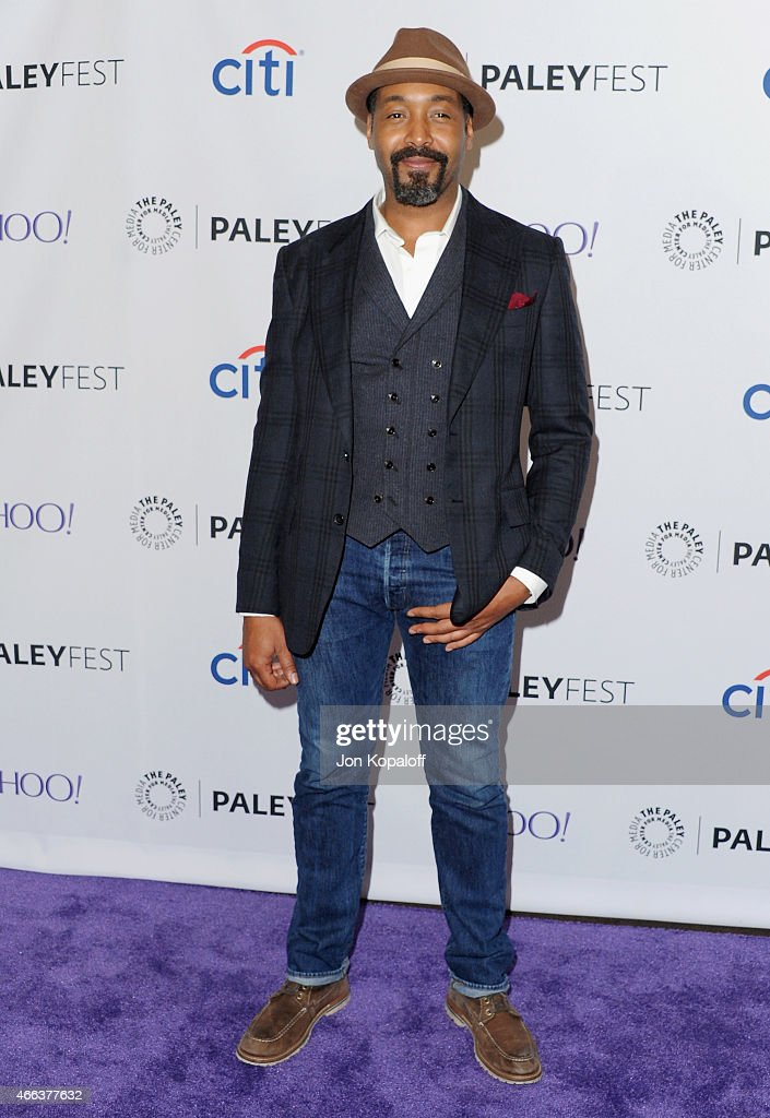 Actor Jesse L. Martin arrives at The Paley Center For Media's 32nd Annual PALEYFEST LA - 'Arrow' And 'The Flash' at Dolby Theatre on March 14, 2015 in Hollywood, California.