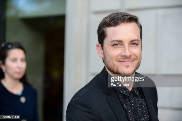 Actor Jesse Lee Soffer enters a Midtown Manhattan hotel on MAY 15 2017 in New York City