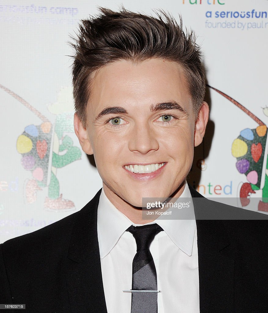 Actor <a gi-track='captionPersonalityLinkClicked' href=/galleries/search?phrase=Jesse+McCartney&family=editorial&specificpeople=204133 ng-click='$event.stopPropagation()'>Jesse McCartney</a> arrives at A Celebration Of Carole King And Her Music To Benefit Paul Newman's The Painted Turtle Camp at Dolby Theatre on December 4, 2012 in Hollywood, California.