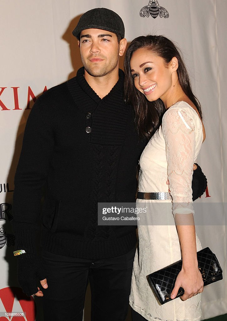 Actor <a gi-track='captionPersonalityLinkClicked' href=/galleries/search?phrase=Jesse+Metcalfe&family=editorial&specificpeople=208805 ng-click='$event.stopPropagation()'>Jesse Metcalfe</a> (L) and <a gi-track='captionPersonalityLinkClicked' href=/galleries/search?phrase=Cara+Santana&family=editorial&specificpeople=4311902 ng-click='$event.stopPropagation()'>Cara Santana</a> attend the Maxim Party Powered by Motorola Xoom at Centennial Hall at Fair Park on February 5, 2011 in Dallas, Texas.