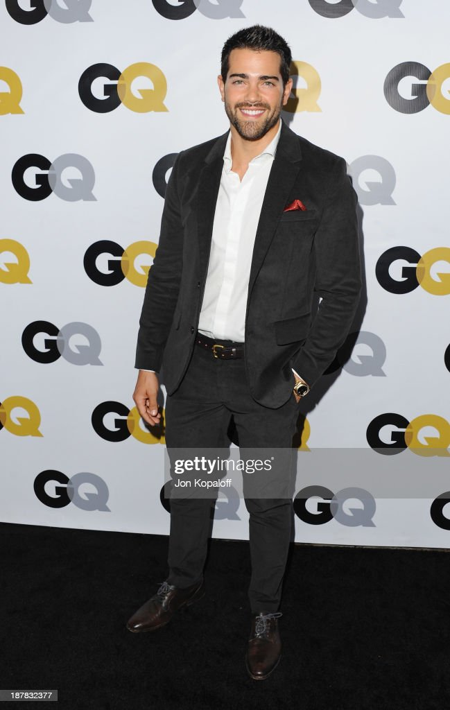 Actor Jesse Metcalfe arrives at GQ Celebrates The 2013 'Men Of The Year' at The Wilshire Ebell Theatre on November 12, 2013 in Los Angeles, California.