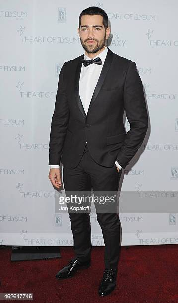Actor Jesse Metcalfe arrives at The Art Of Elysium 8th Annual Heaven Gala at Hangar 8 on January 10 2015 in Santa Monica California