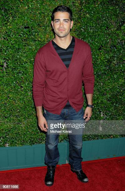 Actor Jesse Metcalfe arrives at the Los Angeles Premiere of 'Capitalism A Love Story' at the AMPAS Samuel Goldwyn Theater on September 15 2009 in...