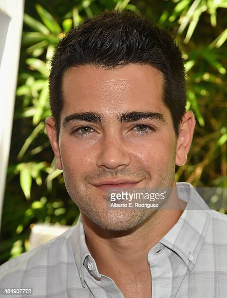Actor Jesse Metcalfe attends Eva Longoria and LG Electronics Host 'Fam To Table' Series at The Washbow on August 22 2015 in Culver City California