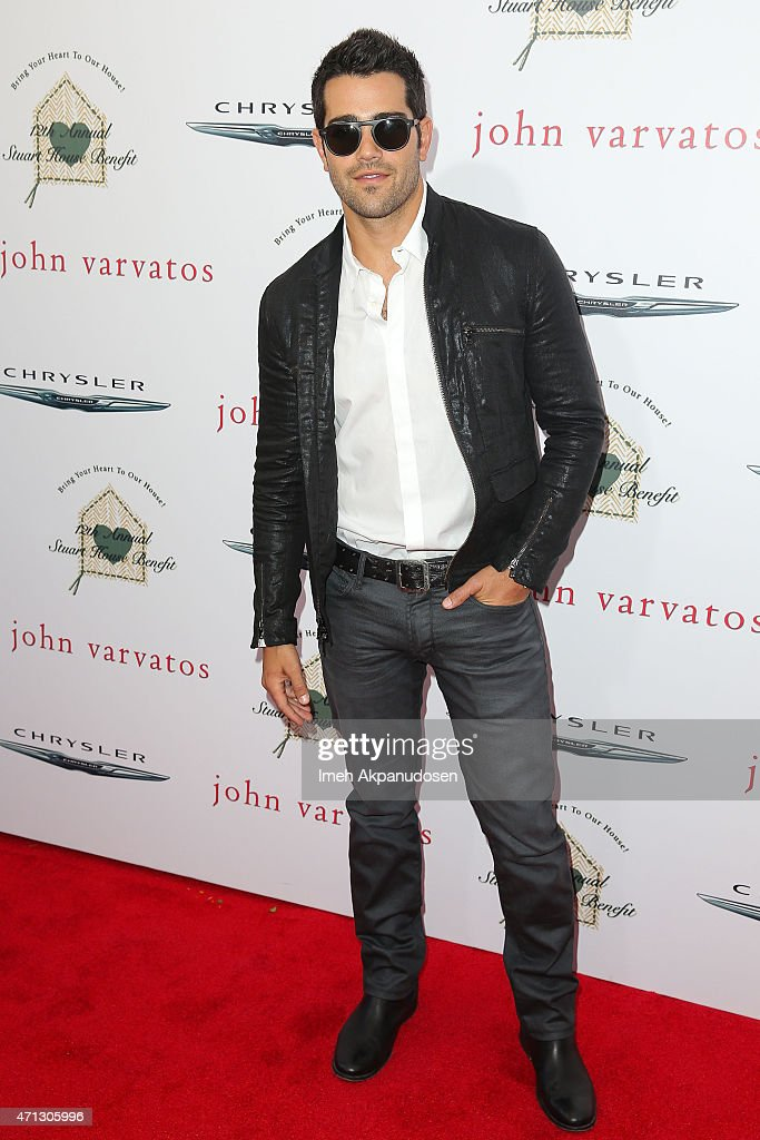 Actor Jesse Metcalfe attends the 12th Annual John Varvatos Stuart House Benefit at John Varvatos on April 26 2015 in Los Angeles California