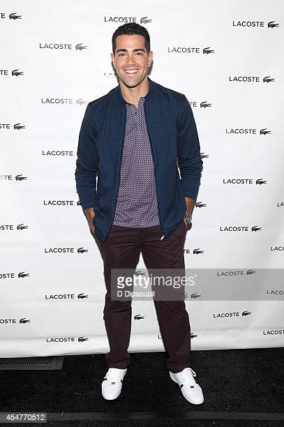 Actor Jesse Metcalfe is seen during MercedesBenz Fashion Week Spring 2015 at Lincoln Center for the Performing Arts on September 6 2014 in New York...