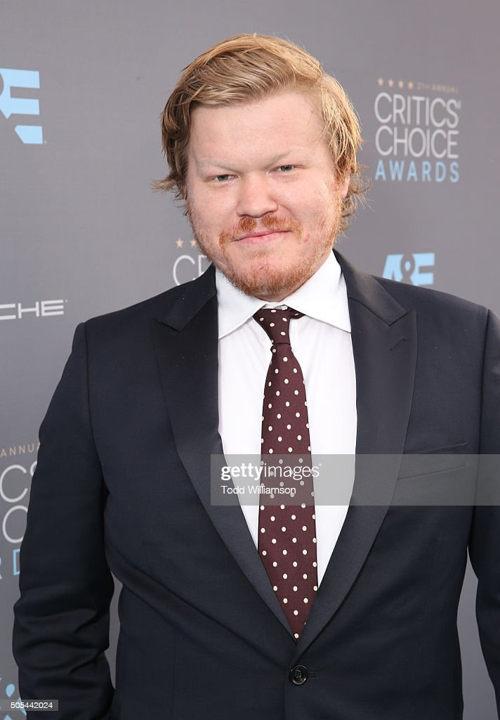 The 29-year old son of father (?) and mother(?), 188 cm tall Jesse Plemons in 2017 photo