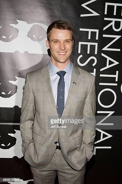 Actor Jesse Spencer attends the 2014 Chicago International Film Festival Television Awards Honoring Jesse Spencer at Radisson Blu Aqua Hotel on April...