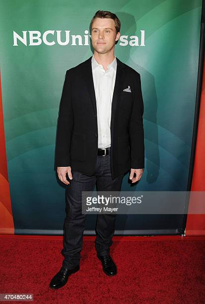 Actor Jesse Spencer attends the 2015 NBCUniversal Summer Press Day held at the The Langham Huntington Hotel and Spa on April 02 2015 in Pasadena...