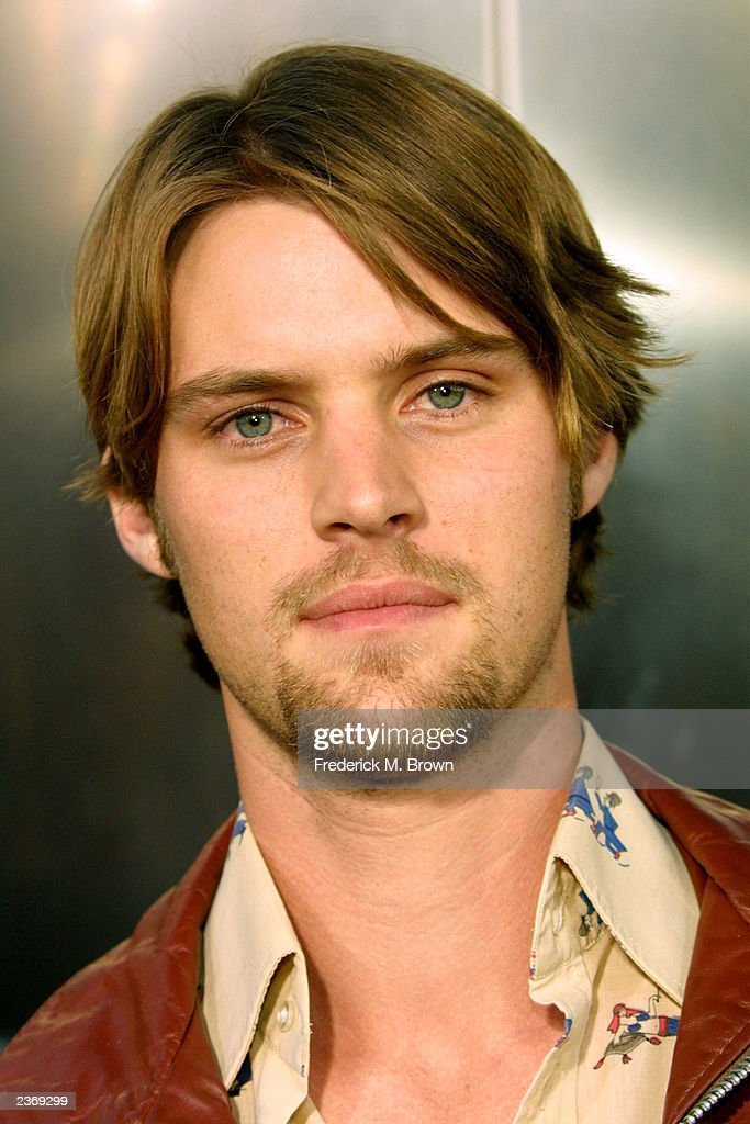 Actor Jesse Spencer attends the MGM Pictures Los Angeles premiere of the film 'Uptown Girls' at the ArcLight Cinerama Dome August 4, 2003 in Hollywood, California.
