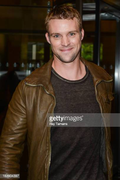 Actor Jesse Spencer leaves the Sirius XM Studios on October 10 2012 in New York City