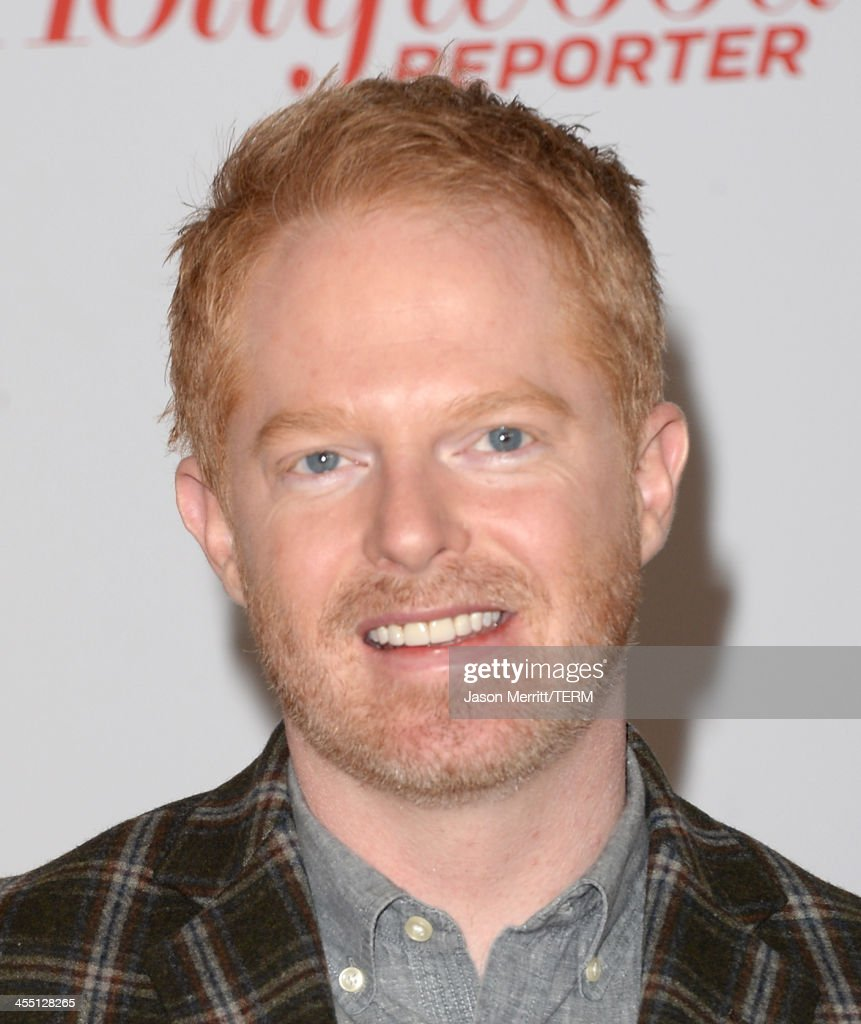 Actor <a gi-track='captionPersonalityLinkClicked' href=/galleries/search?phrase=Jesse+Tyler+Ferguson&family=editorial&specificpeople=633114 ng-click='$event.stopPropagation()'>Jesse Tyler Ferguson</a> arrives at The Hollywood Reporter's 22nd Annual Women In Entertainment Breakfast at Beverly Hills Hotel on December 11, 2013 in Beverly Hills, California.