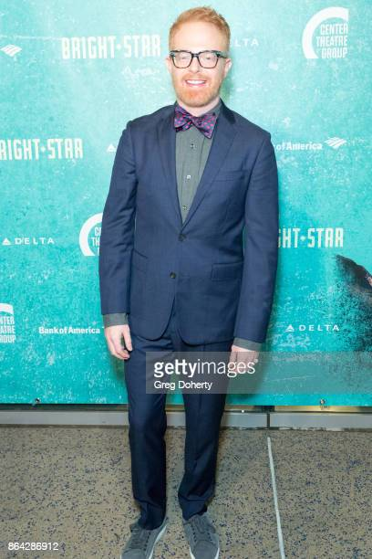 Actor Jesse Tyler Ferguson arrives at the Opening Night Of 'Bright Star' at Ahmanson Theatre on October 20 2017 in Los Angeles California
