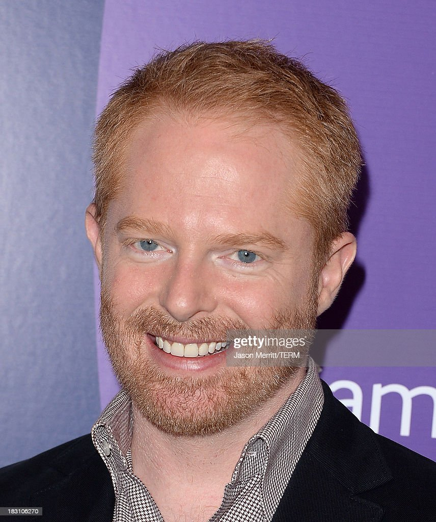 Actor Jesse Tyler Ferguson arrives at Variety's 5th Annual Power of Women event presented by Lifetime at the Beverly Wilshire Four Seasons Hotel on October 4, 2013 in Beverly Hills, California.