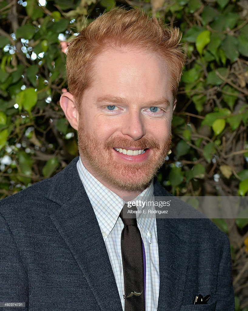 Actor <a gi-track='captionPersonalityLinkClicked' href=/galleries/search?phrase=Jesse+Tyler+Ferguson&family=editorial&specificpeople=633114 ng-click='$event.stopPropagation()'>Jesse Tyler Ferguson</a> attends a 'Modern Family' Wedding episode screening at Zanuck Theater at 20th Century Fox Lot on May 19, 2014 in Los Angeles, California.
