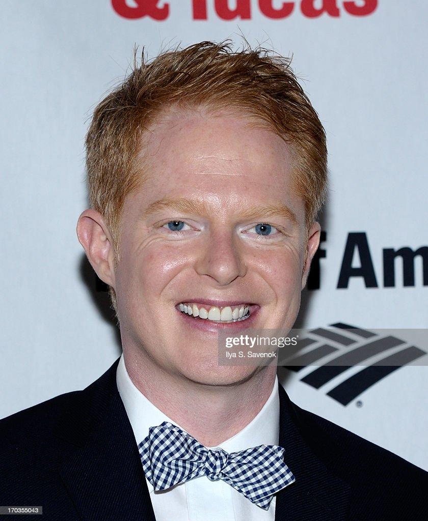 Actor <a gi-track='captionPersonalityLinkClicked' href=/galleries/search?phrase=Jesse+Tyler+Ferguson&family=editorial&specificpeople=633114 ng-click='$event.stopPropagation()'>Jesse Tyler Ferguson</a> attends Annual Public Theater Gala at Delacorte Theater on June 11, 2013 in New York City.