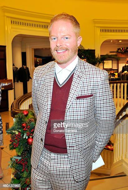 Actor Jesse Tyler Ferguson attends as Brooks Brothers celebrates the holidays with St Jude Children's Research Hospital and Town Country at Brooks...