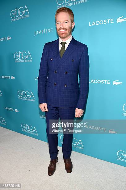 Actor Jesse Tyler Ferguson attends the 17th Costume Designers Guild Awards with presenting sponsor Lacoste at The Beverly Hilton Hotel on February 17...