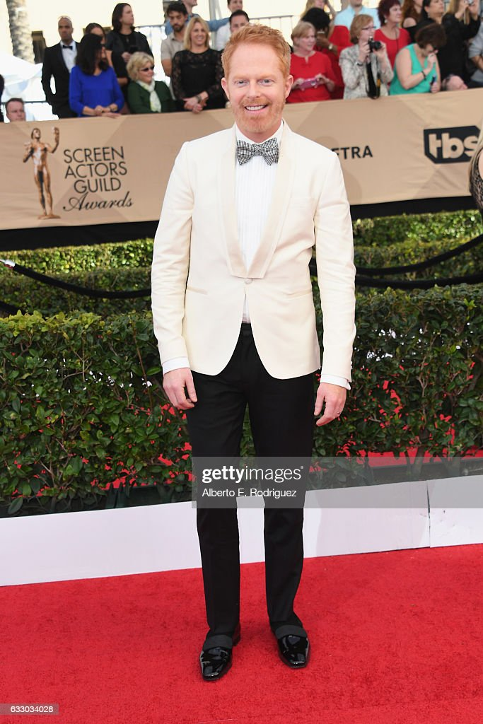 Actor Jesse Tyler Ferguson attends the 23rd Annual Screen Actors Guild Awards at The Shrine Expo Hall on January 29, 2017 in Los Angeles, California.