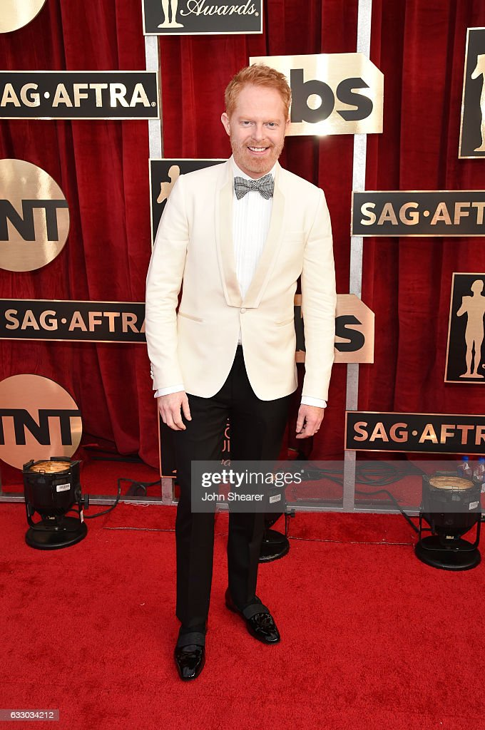 Actor Jesse Tyler Ferguson attends The 23rd Annual Screen Actors Guild Awards at The Shrine Auditorium on January 29, 2017 in Los Angeles, California.