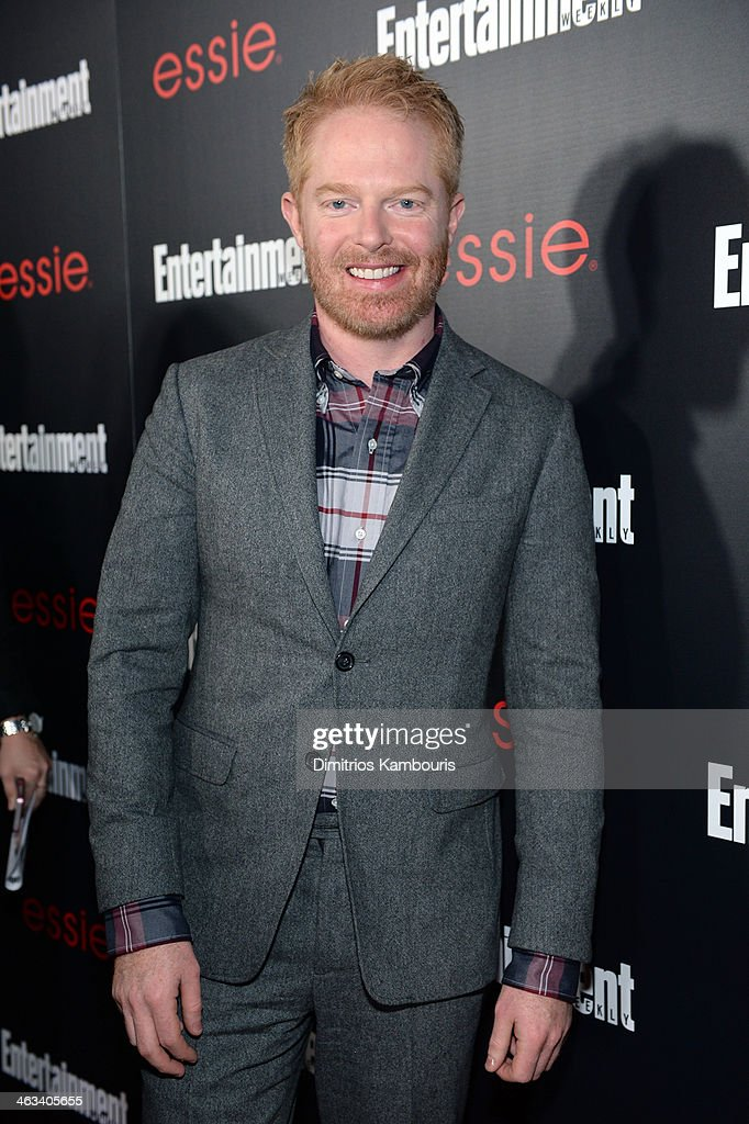 Actor <a gi-track='captionPersonalityLinkClicked' href=/galleries/search?phrase=Jesse+Tyler+Ferguson&family=editorial&specificpeople=633114 ng-click='$event.stopPropagation()'>Jesse Tyler Ferguson</a> attends the Entertainment Weekly celebration honoring this year's SAG Awards nominees sponsored by TNT & TBS and essie at Chateau Marmont on January 17, 2014 in Los Angeles, California.