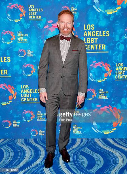 Actor Jesse Tyler Ferguson attends the Los Angeles LGBT Center 47th Anniversary Gala Vanguard Awards at Pacific Design Center on September 24 2016 in...