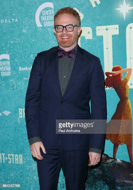 Actor Jesse Tyler Ferguson attends the opening night of 'Bright Star' at Ahmanson Theatre on October 20 2017 in Los Angeles California