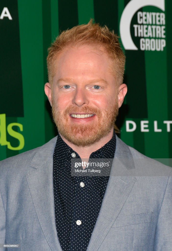 Actor Jesse Tyler Ferguson attends the opening night of Fiasco Theater's Production of 'Into the Woods' at Ahmanson Theatre on April 5, 2017 in Los Angeles, California.