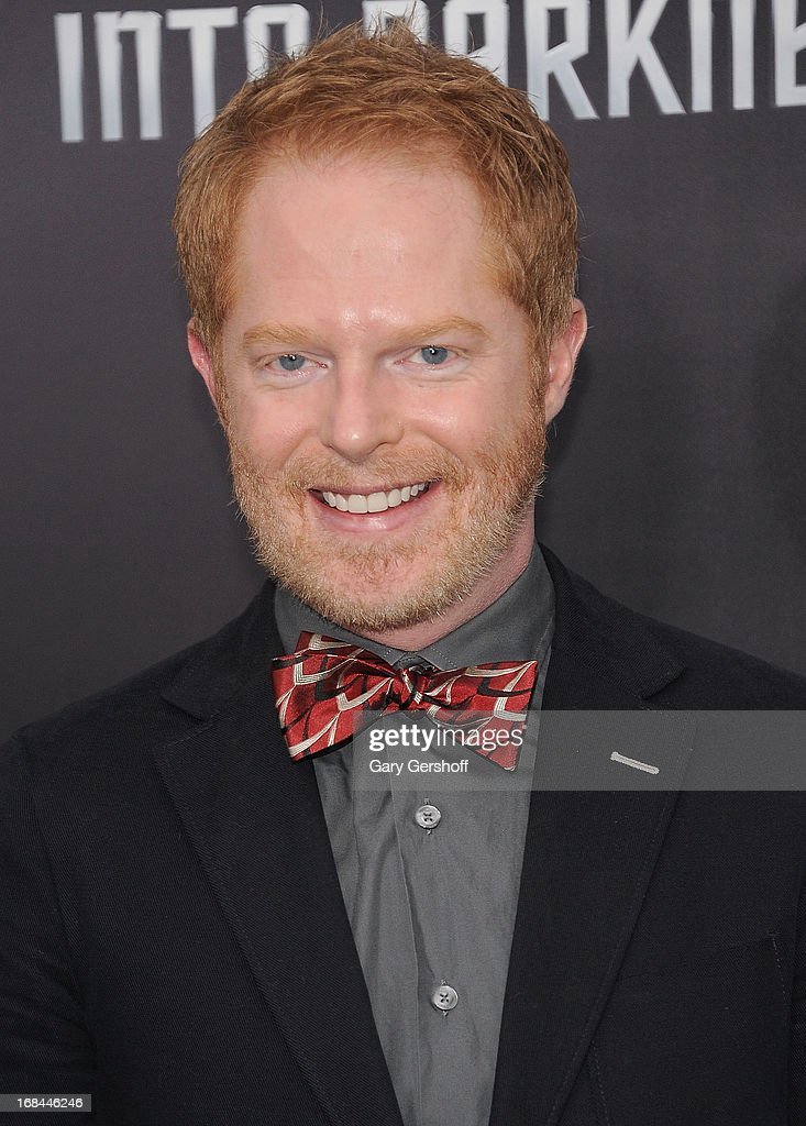 Actor Jesse Tyler Ferguson attends the 'Star Trek Into Darkness' screening at AMC Loews Lincoln Square on May 9, 2013 in New York City.