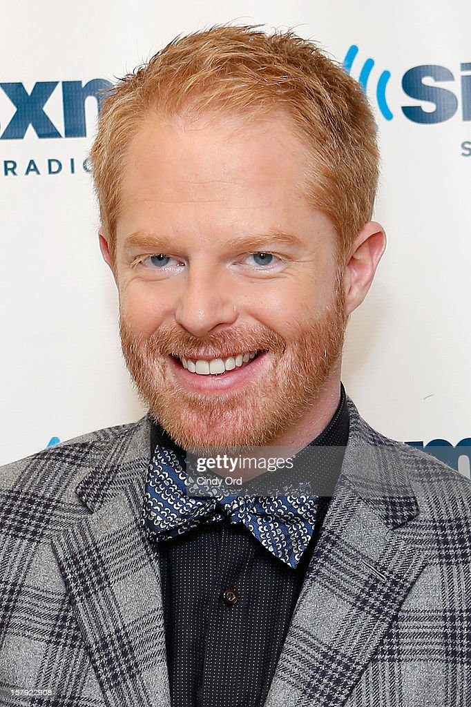 Actor Jesse Tyler Ferguson visits the SiriusXM Studios on December 7, 2012 in New York City.